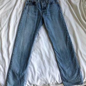 Levi High Waisted 501 Jeans
